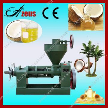 Best quality peanut oil extraction machine / coconut oil making machine from Azeus