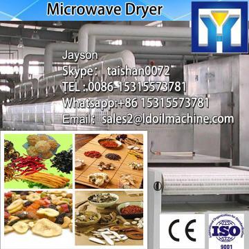 jasmine tea microwave dryer with germicidal effect