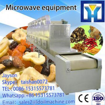 Saffron dryer, saffron drying machine, tunnel belt microwave dryer