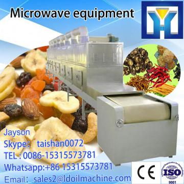 Tunnel microwave puffing equipment for fish maw