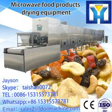 Automatic tunnel type Frozen Fish Microwave dry and sterilizer equipment